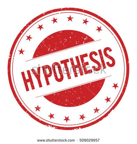 Thesis and hypothesis examples